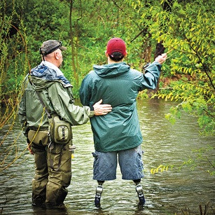 Fly tying marathon for project healing waters fly for Healing waters fly fishing